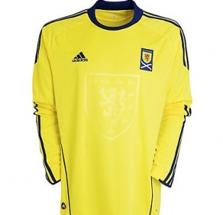 Kids 2011 Scotland Away Football Shirt Longsleeve
