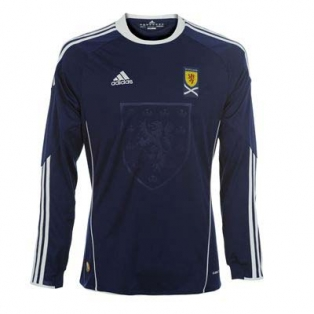 Kids Scotland Football Shirt 2011 Longsleeve