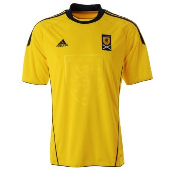 Kids Scotland Football Shirt - Away